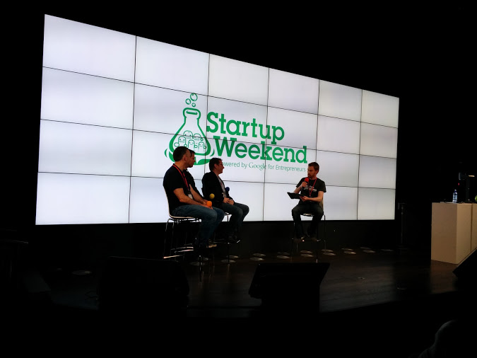 Startup Weekend Dublin Fire Side Chat