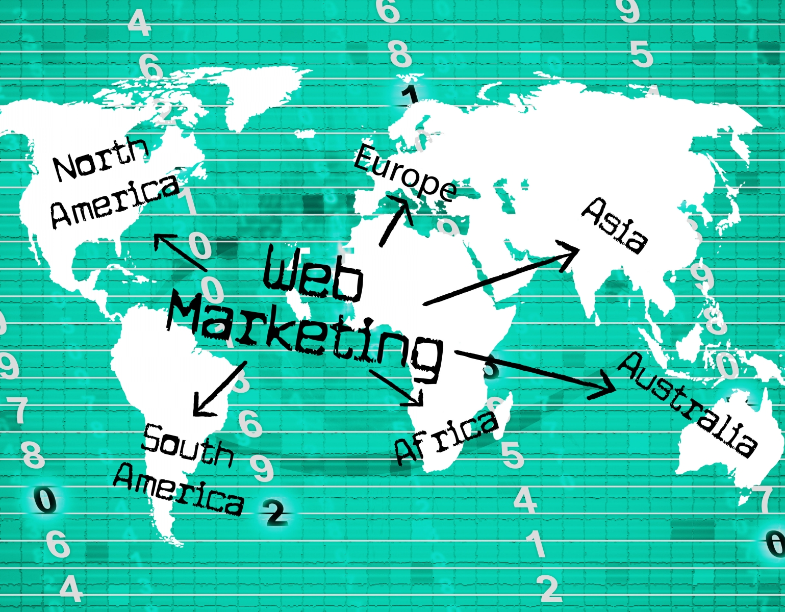 9888477-web-marketing-means-online-promotion-and-selling